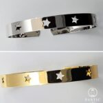 Bracelets Star Cuff Gold or Silver Plated
